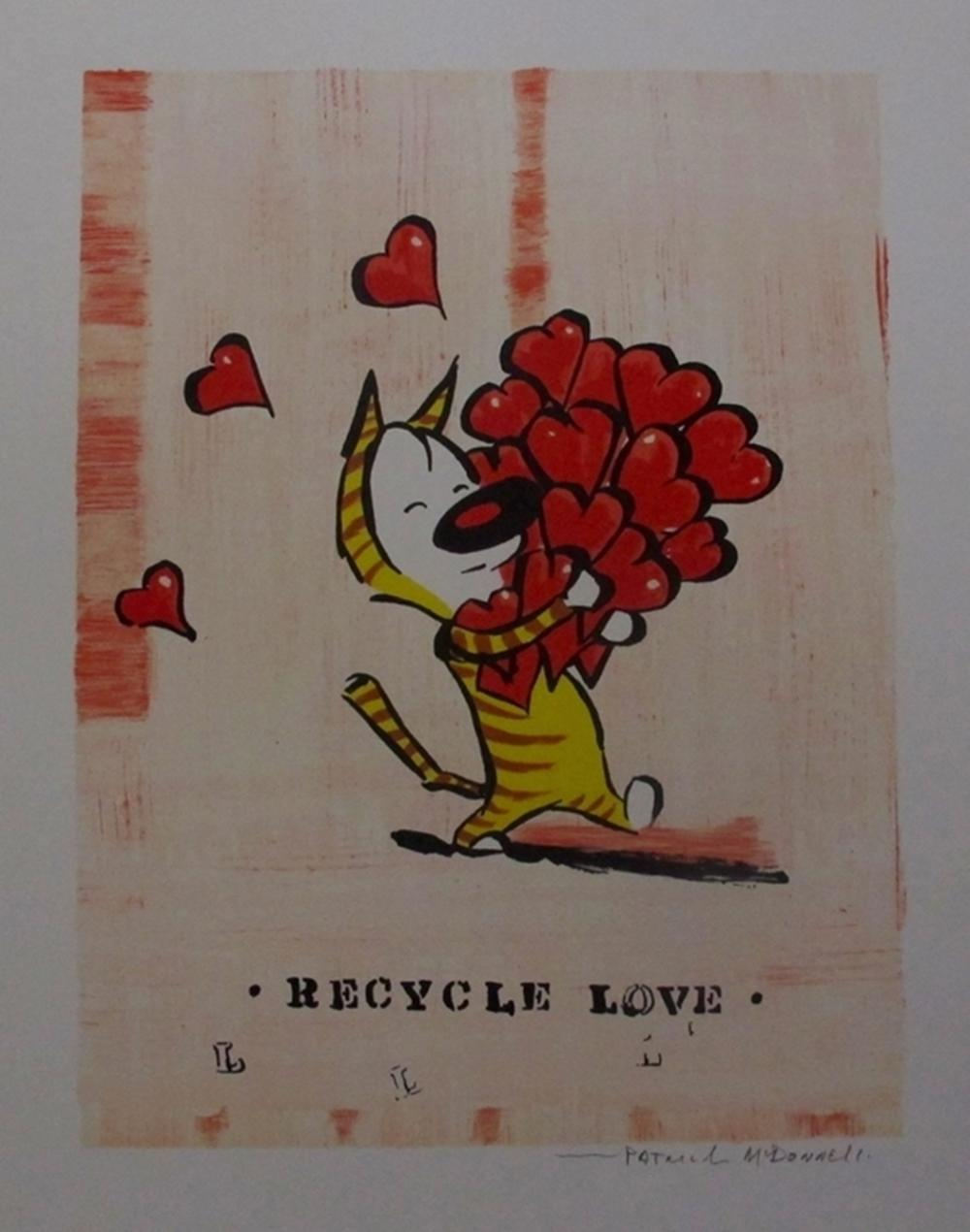 Patrick Mcdonnell Recycle Love