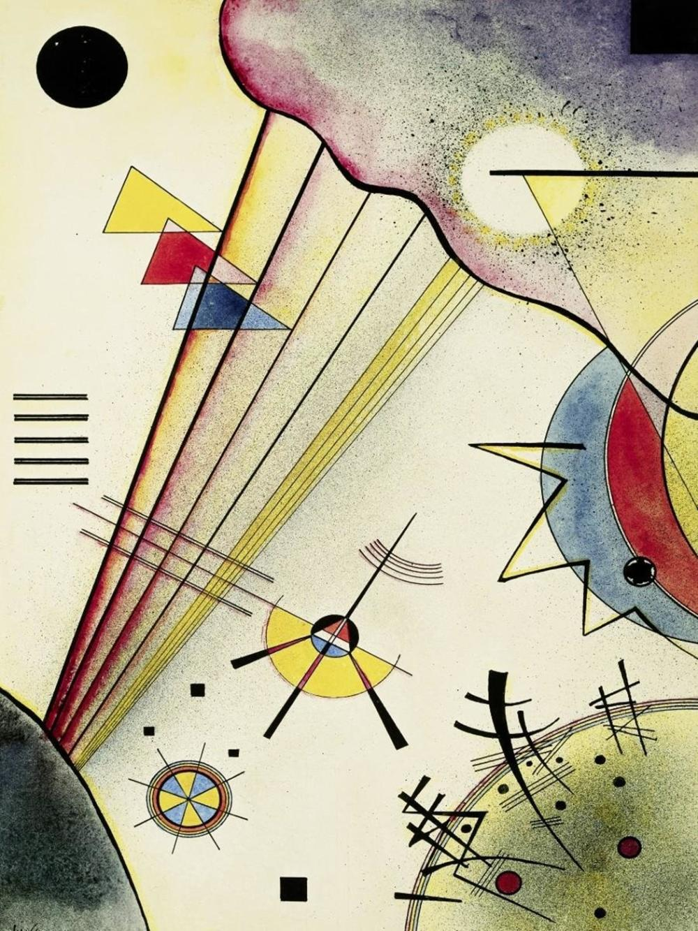 WASSILY KANDINSKY CLEAR CONNECTION