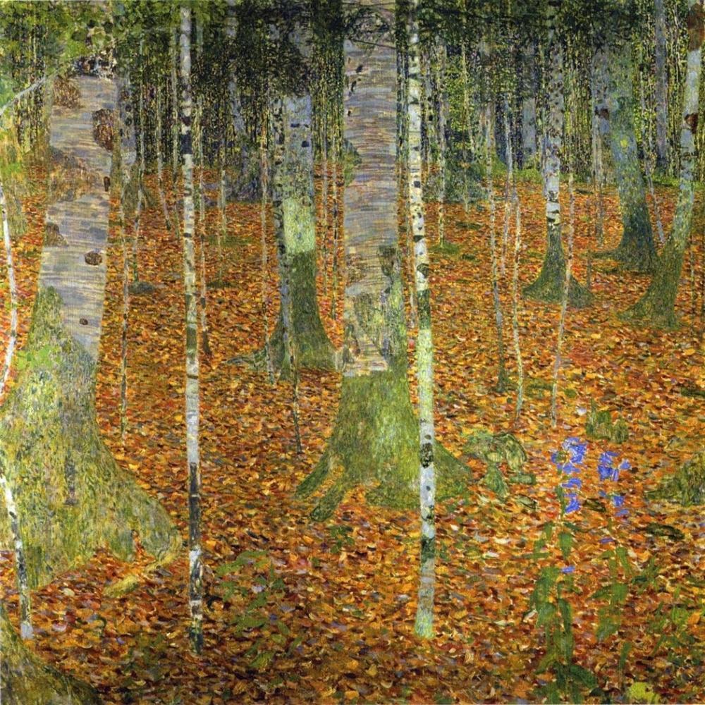 GUSTAV KLIMT BIRCH WOOD 1903