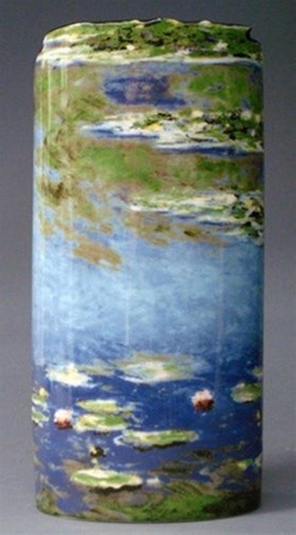 Waterlilles Flowers Vase by Monet