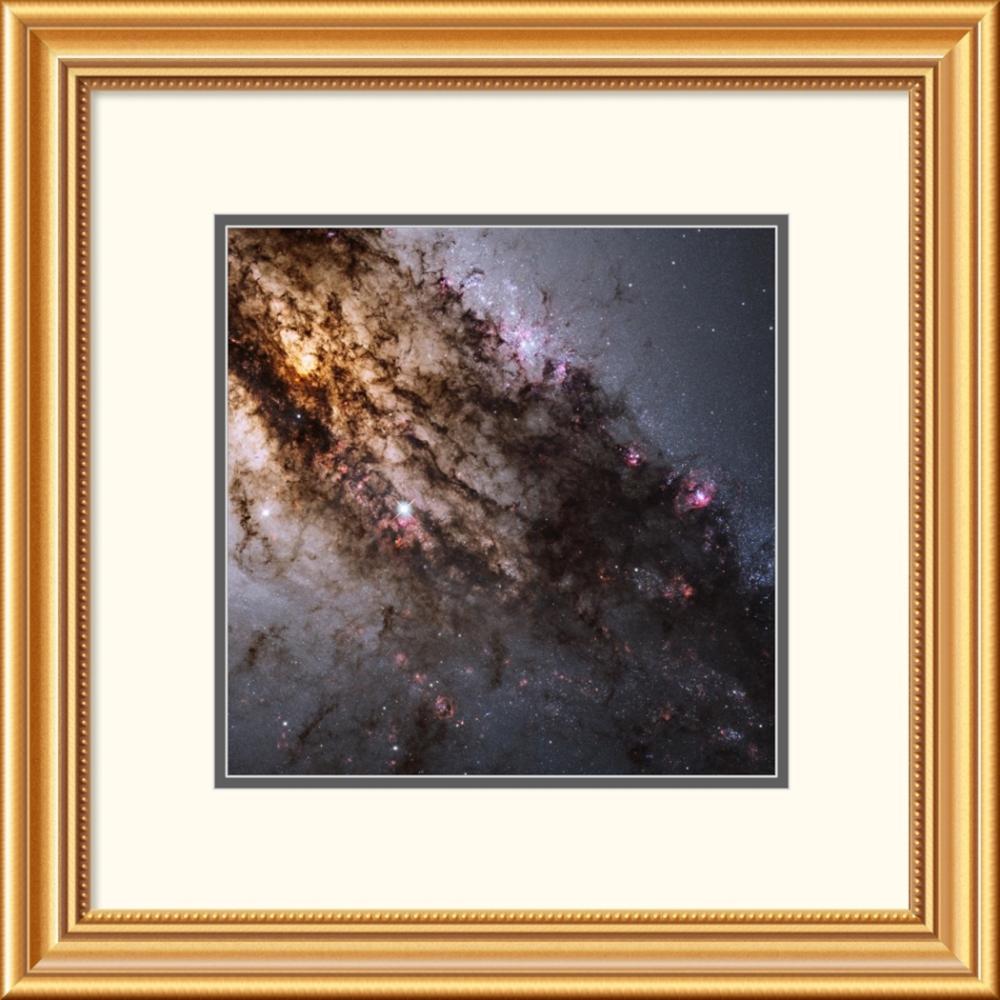 NASA - Star Birth in the Active Galaxy Centaurus A