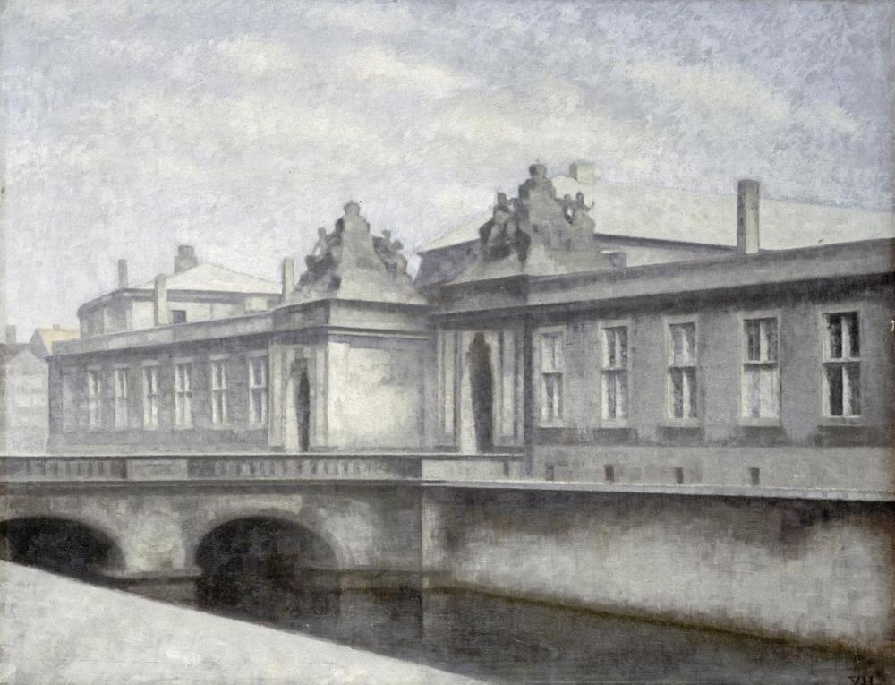 VILHELM HAMMERSHOI THE MARMORBROEN, CHRISTIANSBORG PALACE, COPENHAGEN