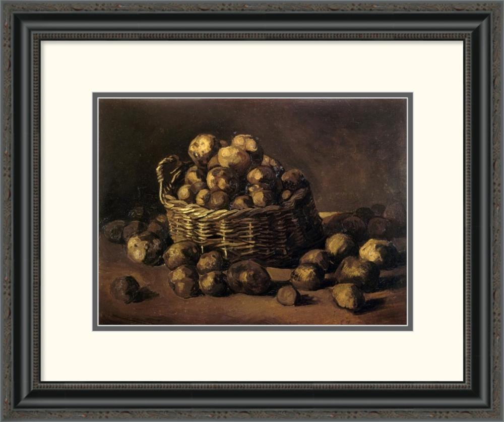 Vincent Van Gogh - Basket Of Potatoes