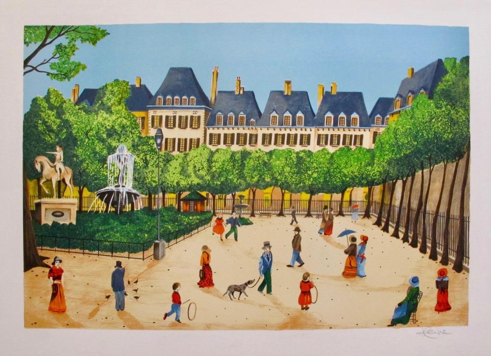 Heine  Champs Elysees