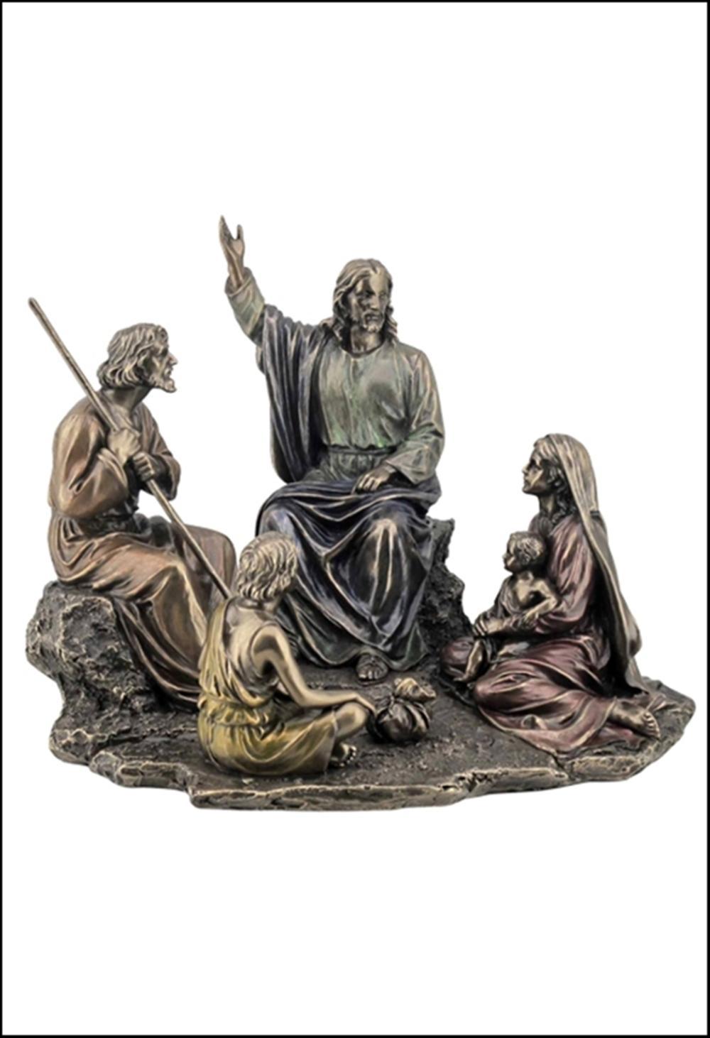 JESUS PREACHING BRONZE