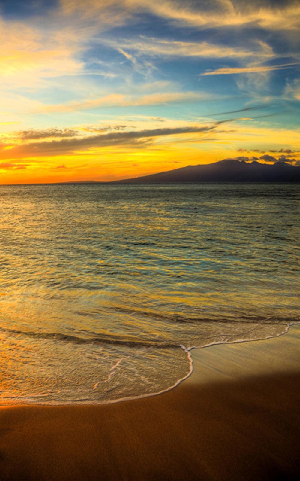 Kelly Wade - Maui Sunset Hawiian Islands