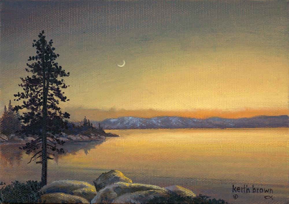Keith Brown - Tahoe Evening