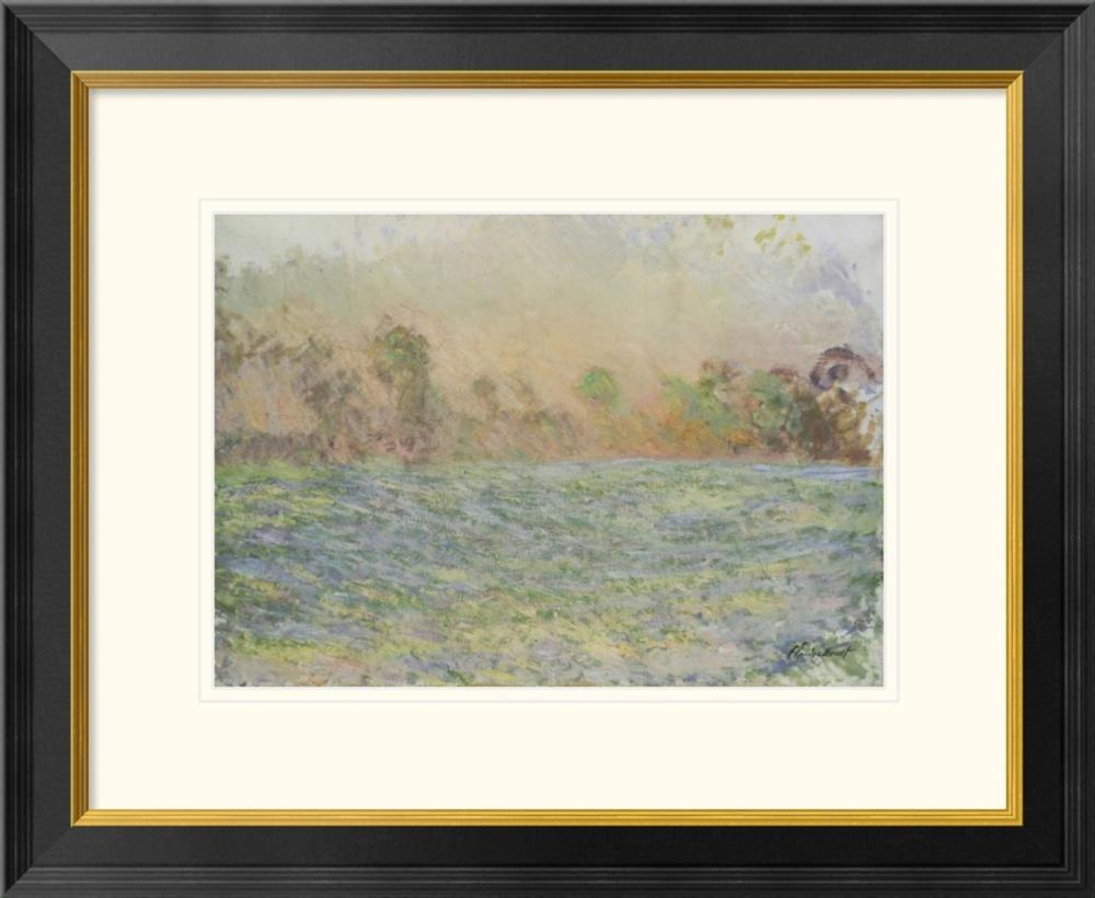 Claude Monet - La prairie de Limetz, pr s de Giverny