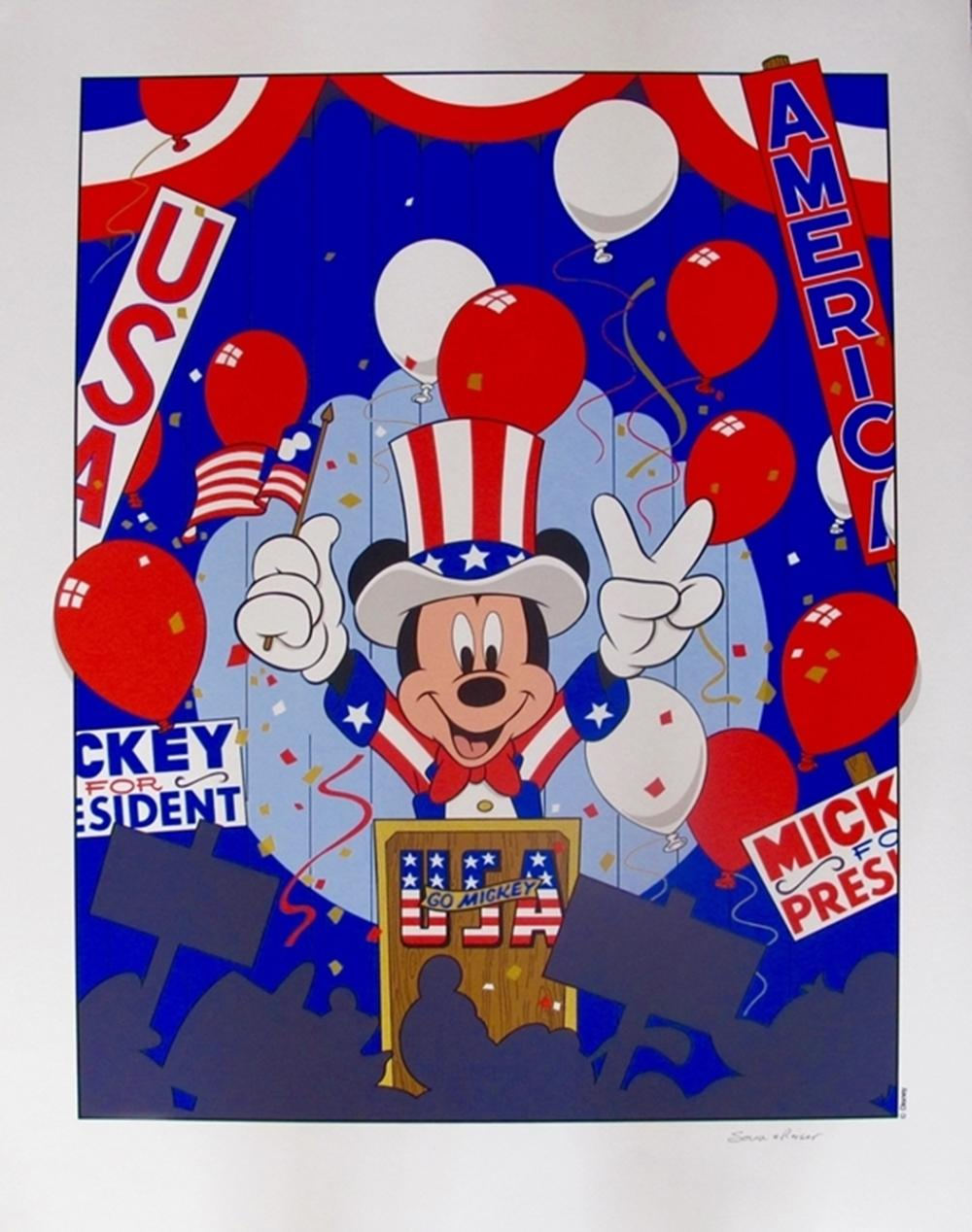 Disney Mickey Mouse  Mickey Mouse For President Convention