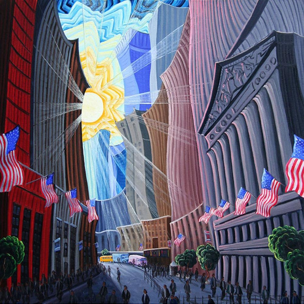 Kim Wiggins - Days End at Wall Street and Broad