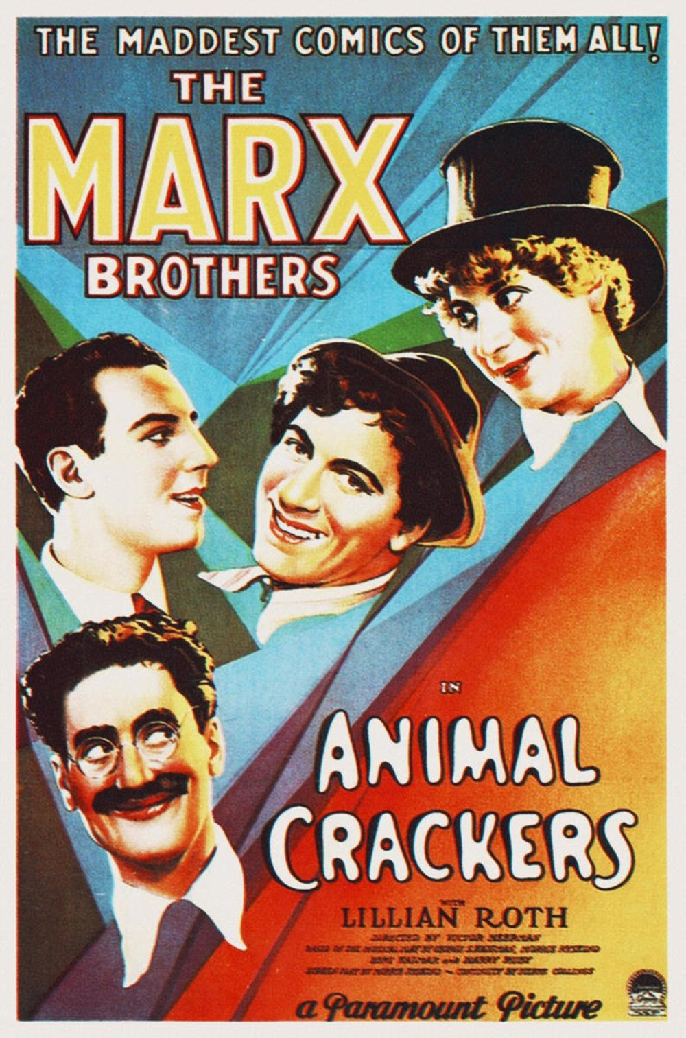 HOLLYWOOD PHOTO ARCHIVE MARX BROTHERS - ANIMAL CRACKERS 02