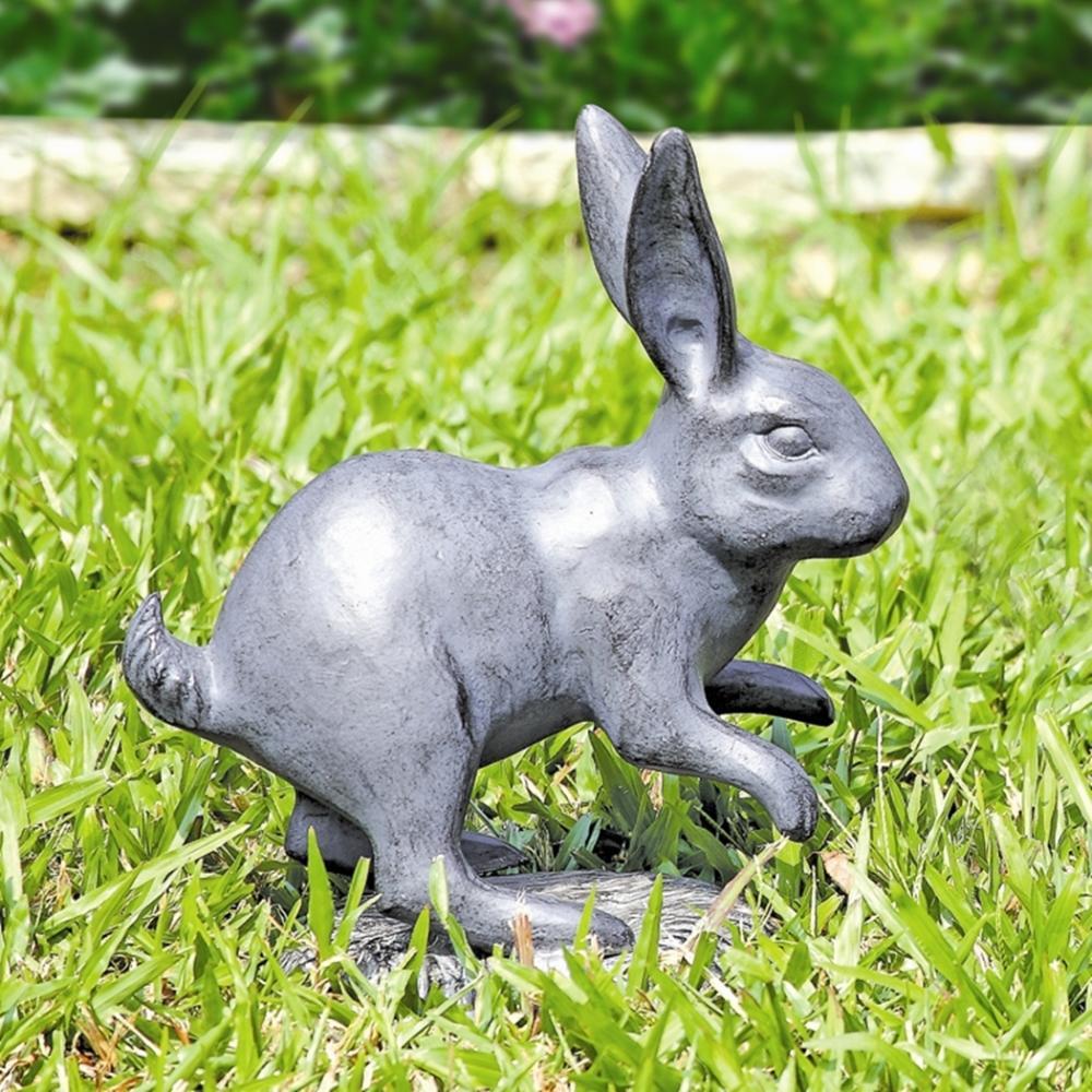 Skipping Rabbit Garden Sculpture