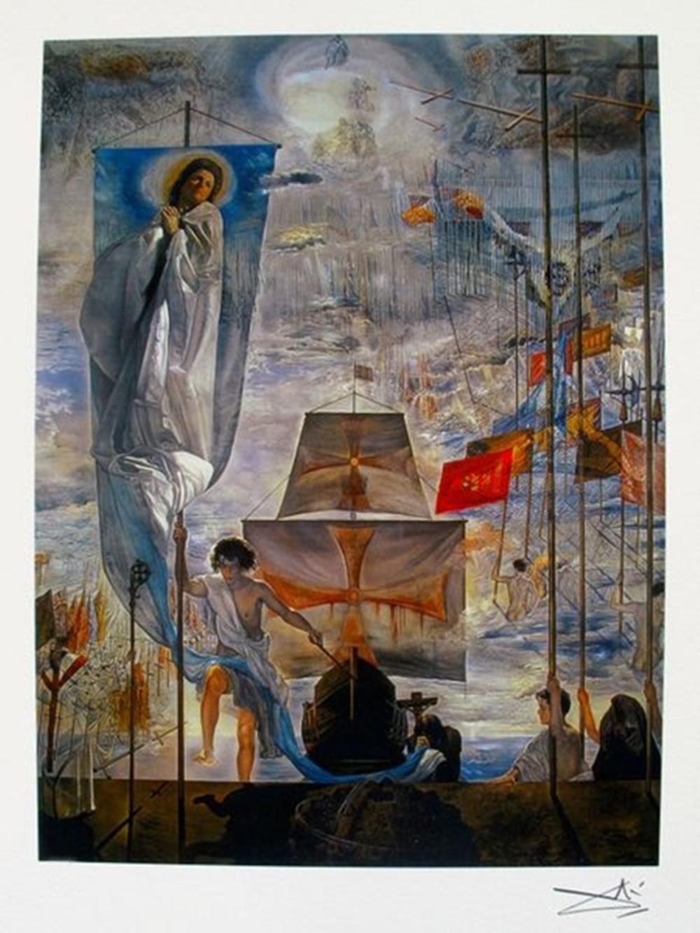 Salvador Dali Discovery Of America
