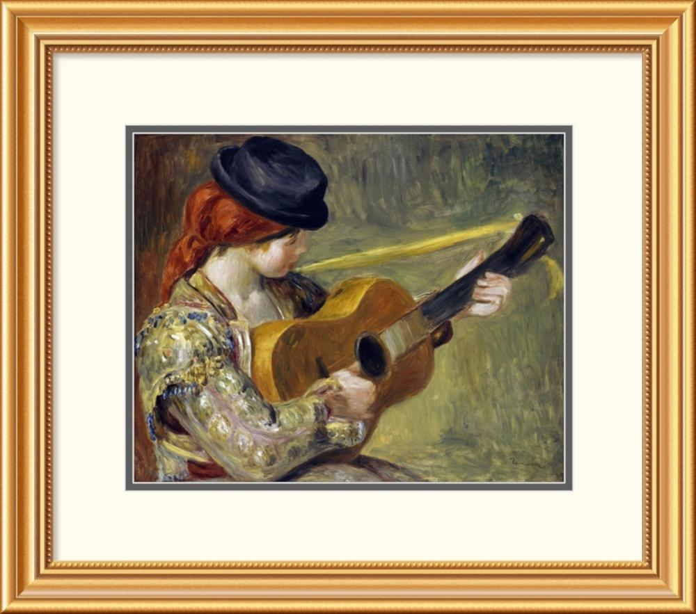 Pierre-Auguste Renoir - Girl with a Guitar, 1897