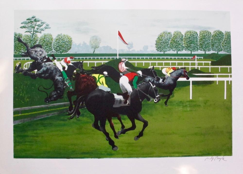 Pierre Charles Bayle The Steeplechase