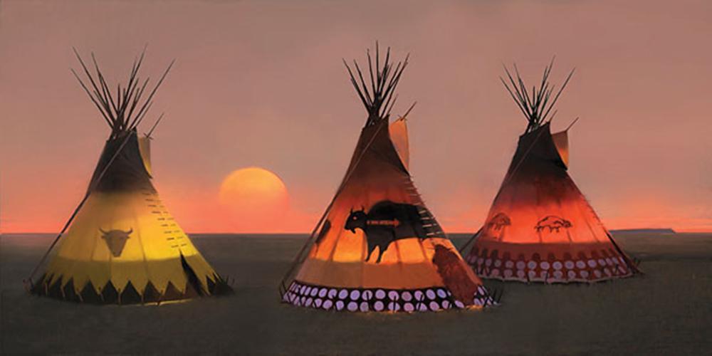 R. Tom Gilleon - Indian Sunset II