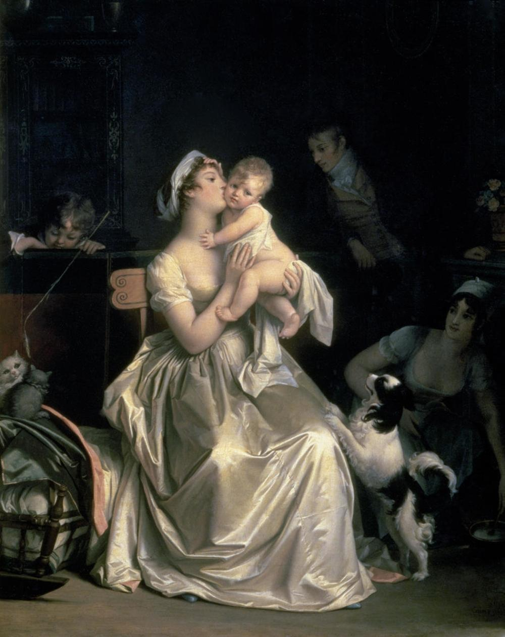 MARGUERITE GERARD MOTHERHOOD, 1805