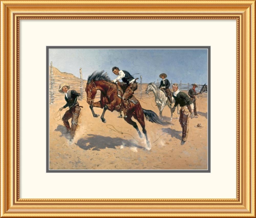 Frederic Remington - Turn Him Loose, Bill