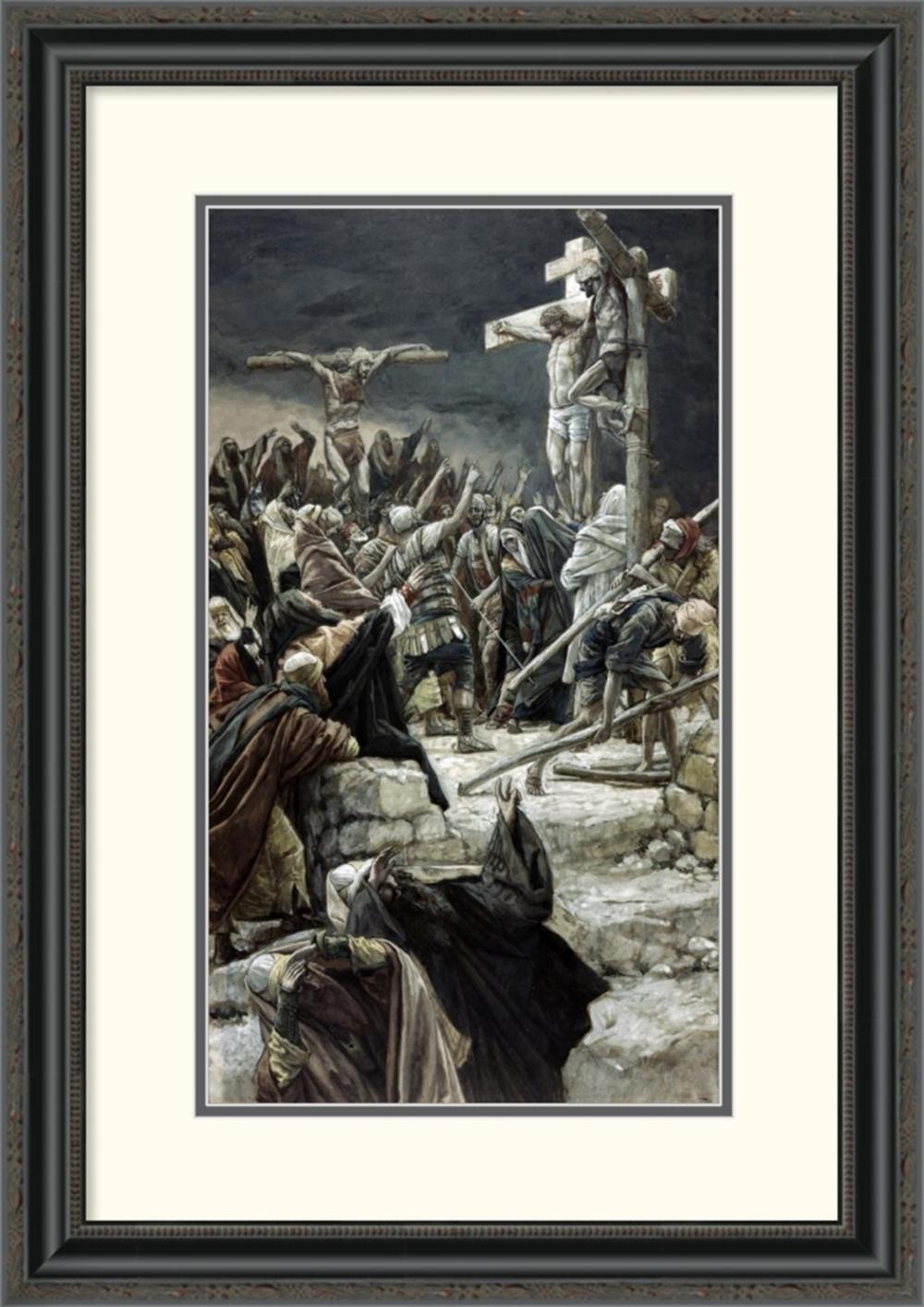 James Tissot - Pardoning of the Penitent Thief