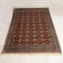 Southwest Style Geometric Wool Rug 88