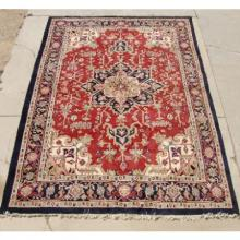 Hand Knotted Wool Rug Large Persian 9 x 13 Feet