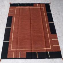 Color Block Southwest Style Rug Room Size 5 x 7 Foot Wool