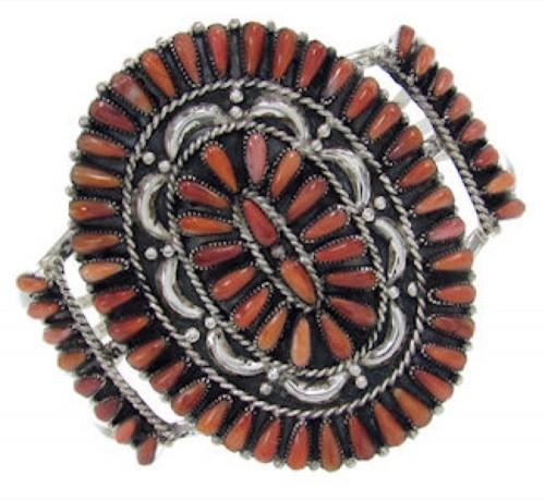 Oyster Shell Jewelry Silver Cuff Bracelet
