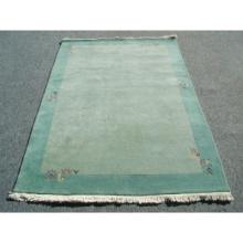 Hand Knotted Wool Rug Modern Plush 4 x 6 Feet