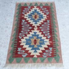 Hand Knotted Southwest Style Wool Rug Large Size Carpet 45