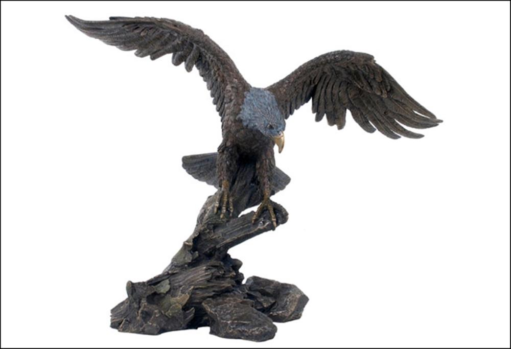 EAGLE OPENING WINGS BRONZE