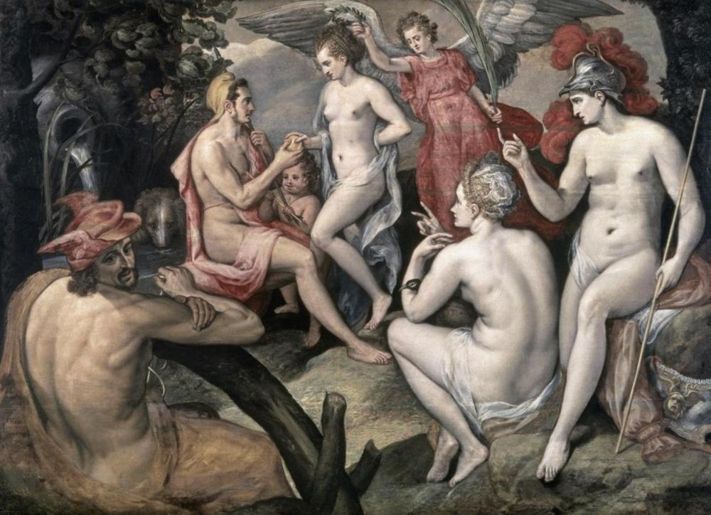 FRANS FLORIS THE ELDER THE SELECTION OF PARIS