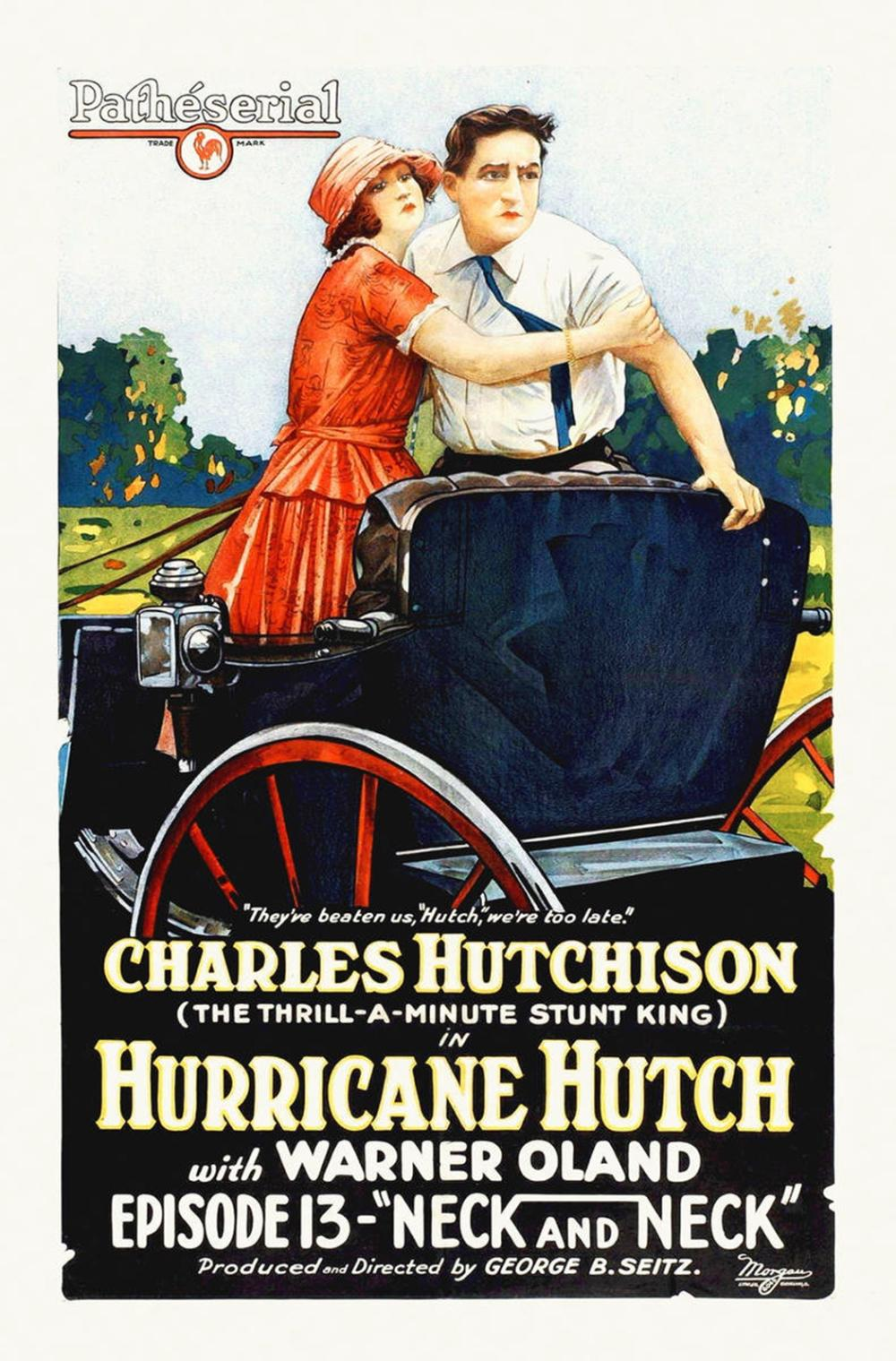 HOLLYWOOD PHOTO ARCHIVE HURRICANE HUTCH, WITH WARNER OLAND, 1929
