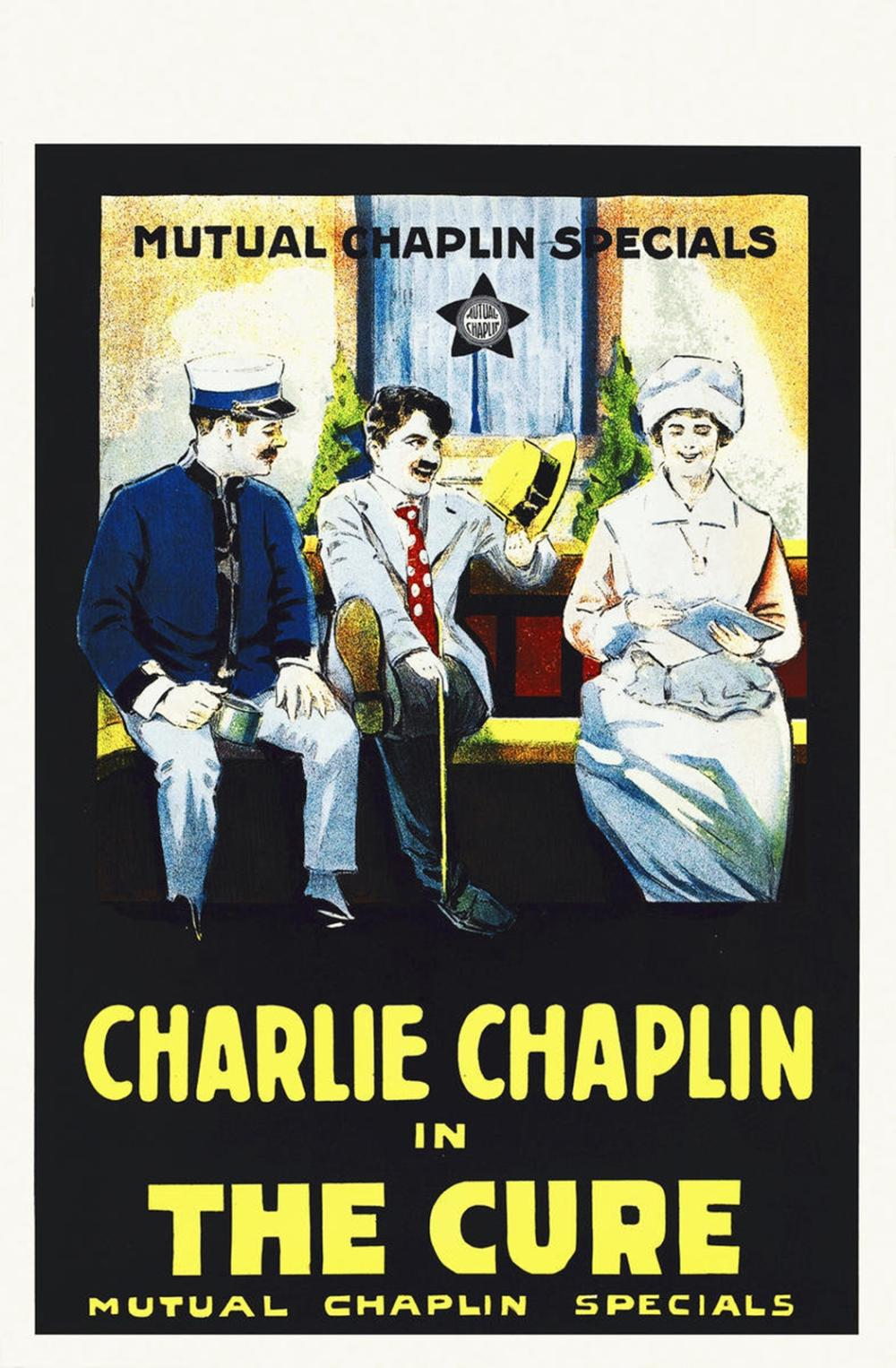HOLLYWOOD PHOTO ARCHIVE CHAPLIN, CHARLIE, THE CURE