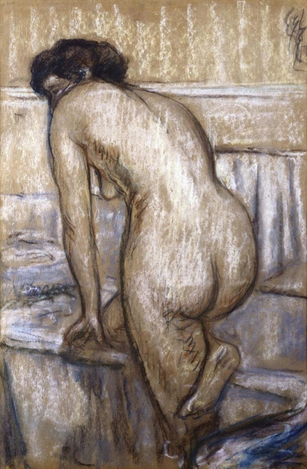 EDGAR DEGAS THE BATH