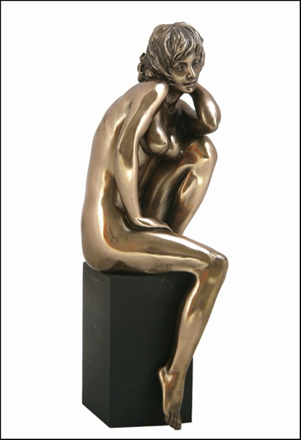 NUDE FEMALE BRONZE