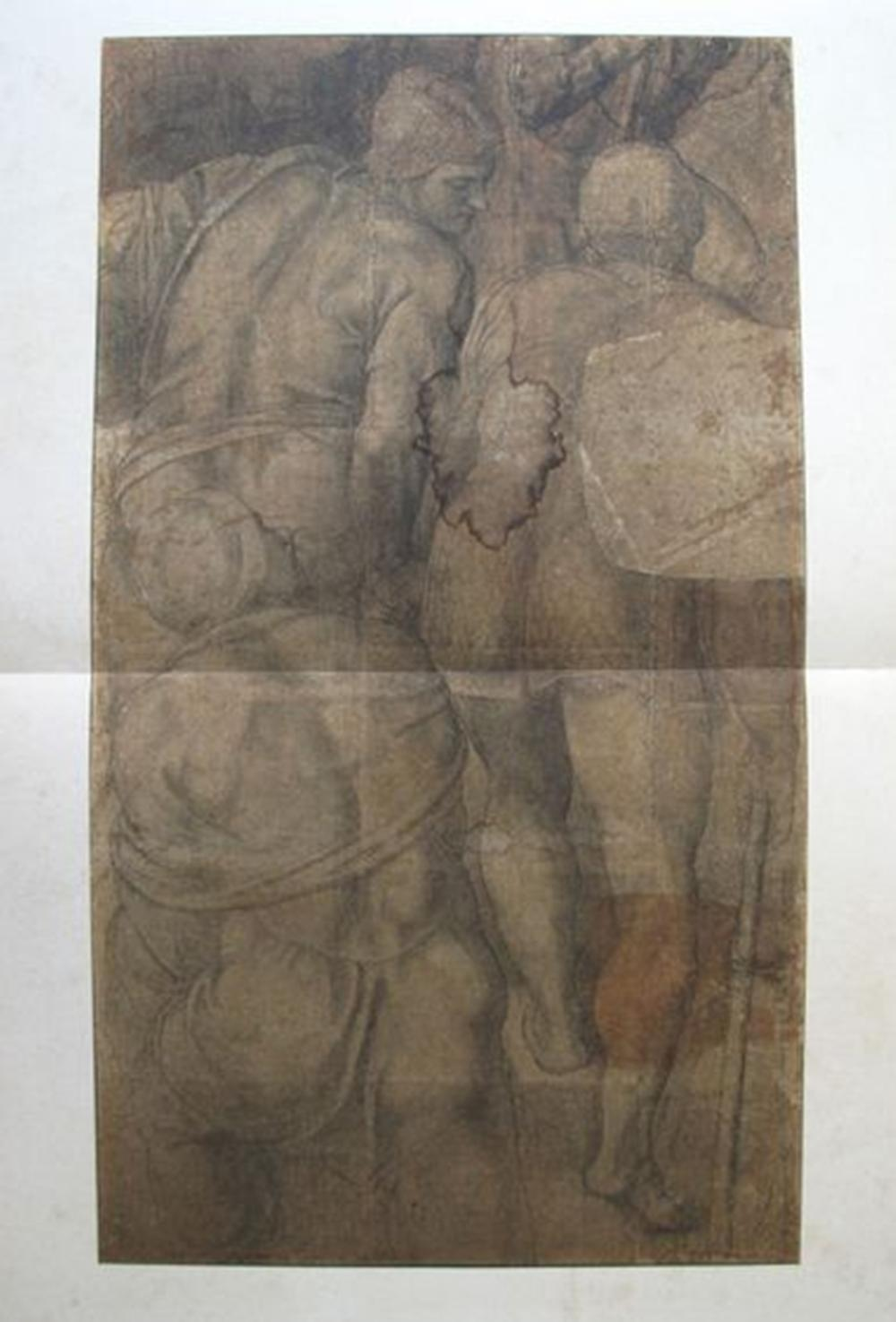 Michelangelo  Cardboard For The Crucifixion Of St. Peter