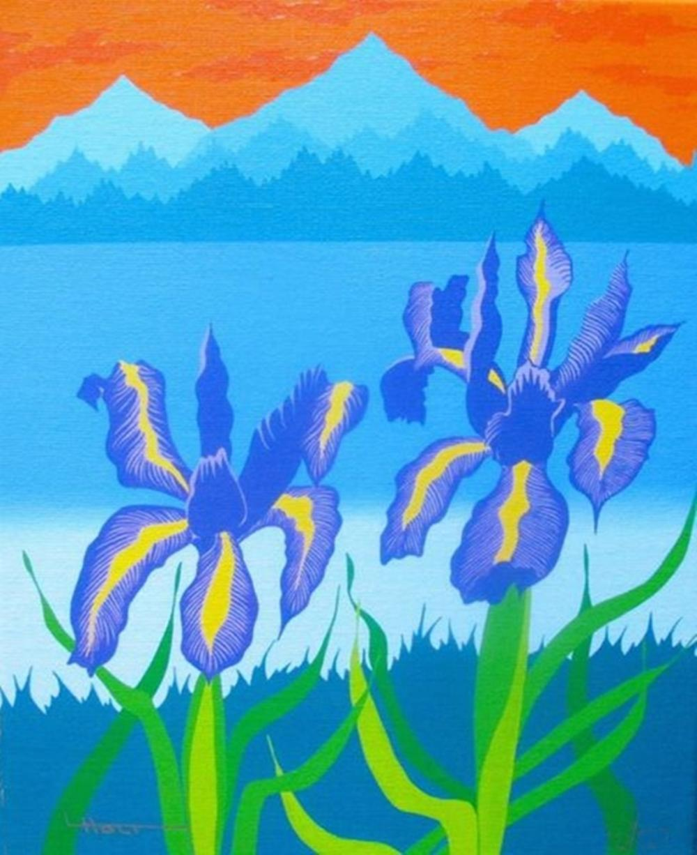 Larissa Holt Iris Lake