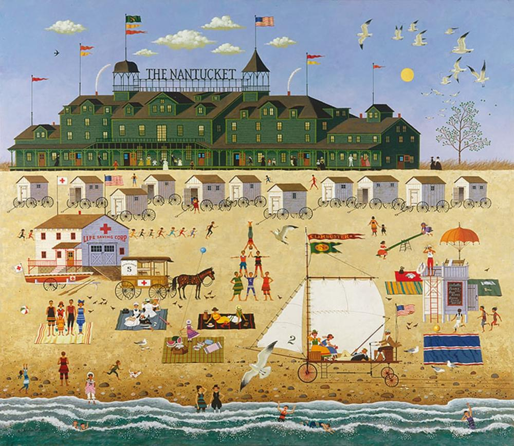 Charles Wysocki - The Nantucket