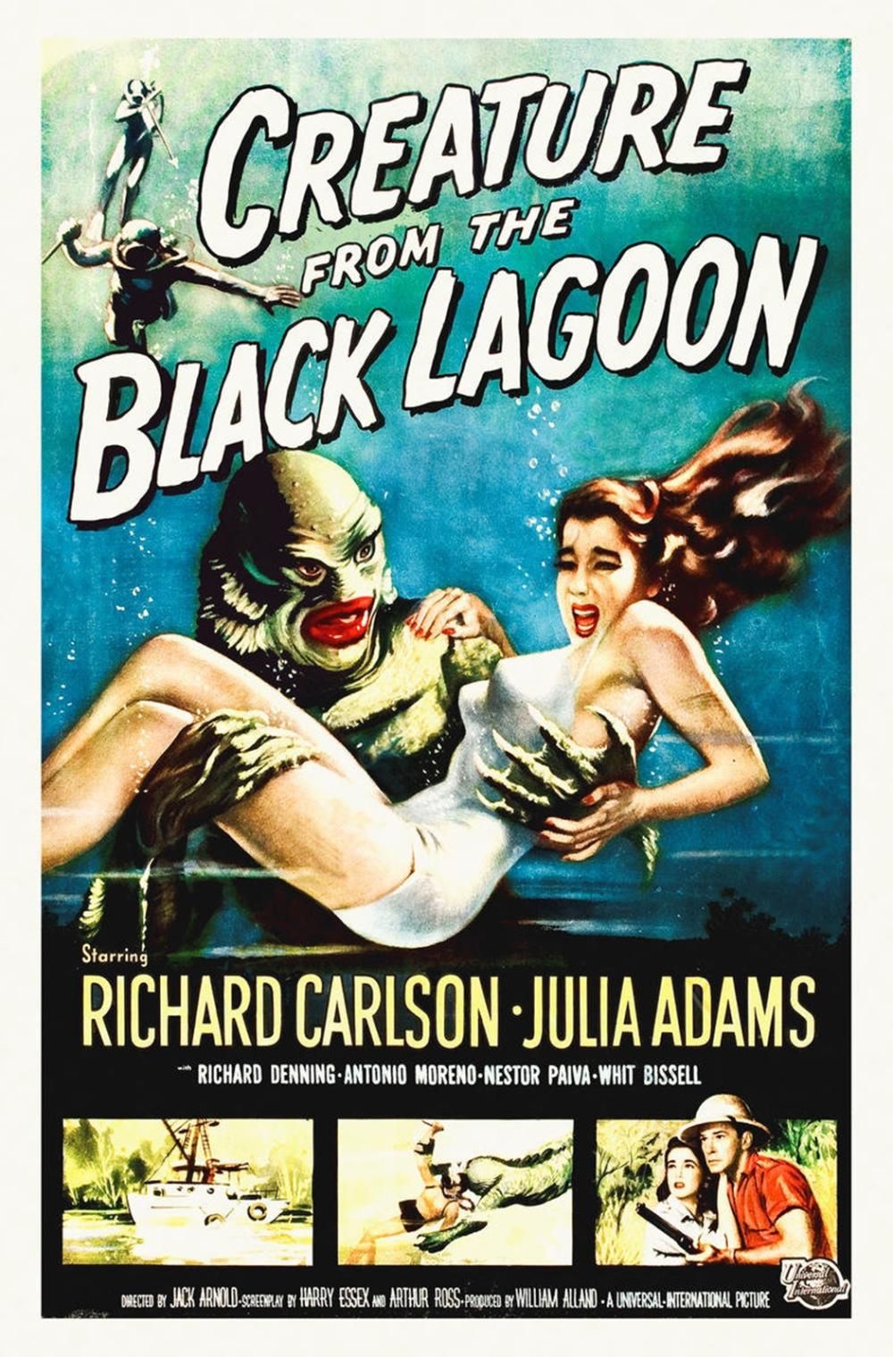 HOLLYWOOD PHOTO ARCHIVE CREATURE FROM THE BLACK LAGOON