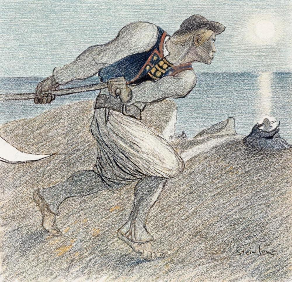 THEOPHILE STEINLEN THE BIG REAPER