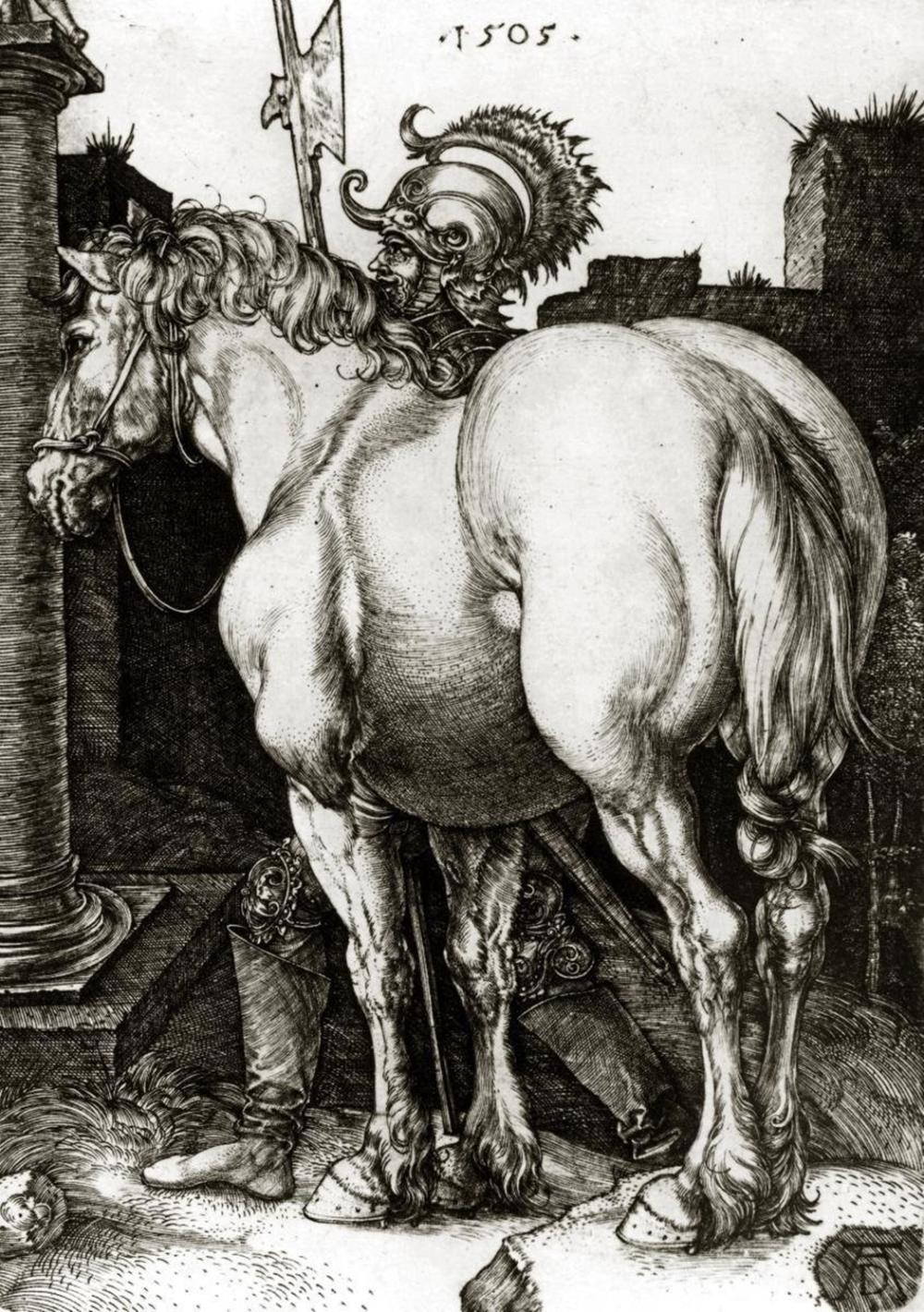 ALBRECHT DURER THE LARGE HORSE