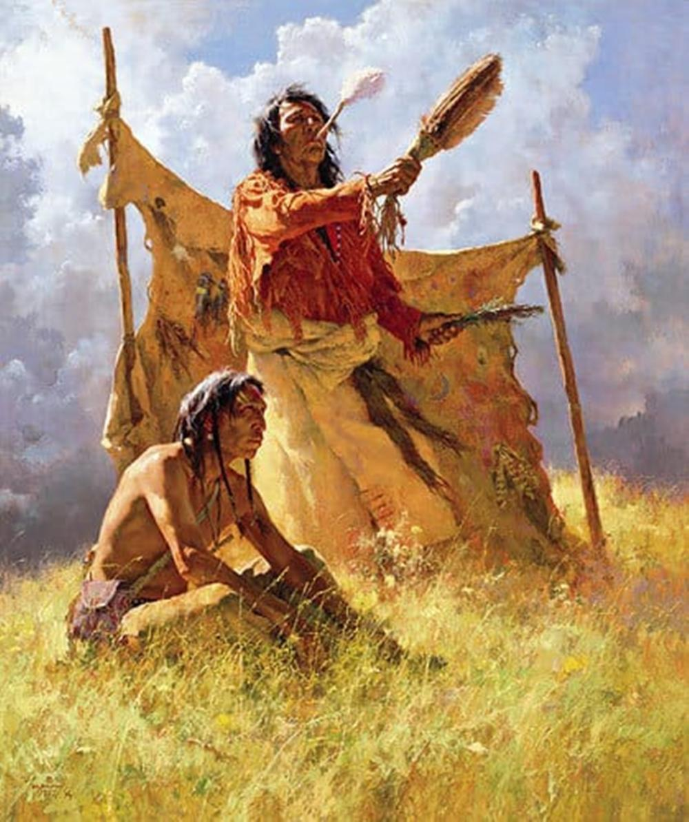 Howard Terpning...The Weather Dancer Dream
