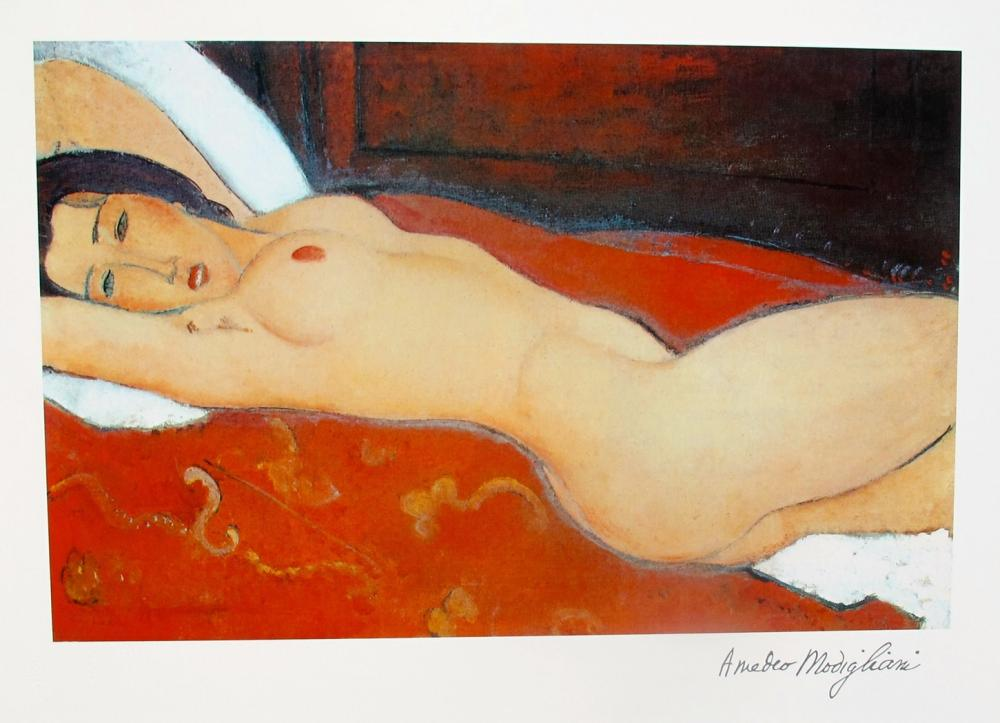Amadeo Modigliani Reclining Nude