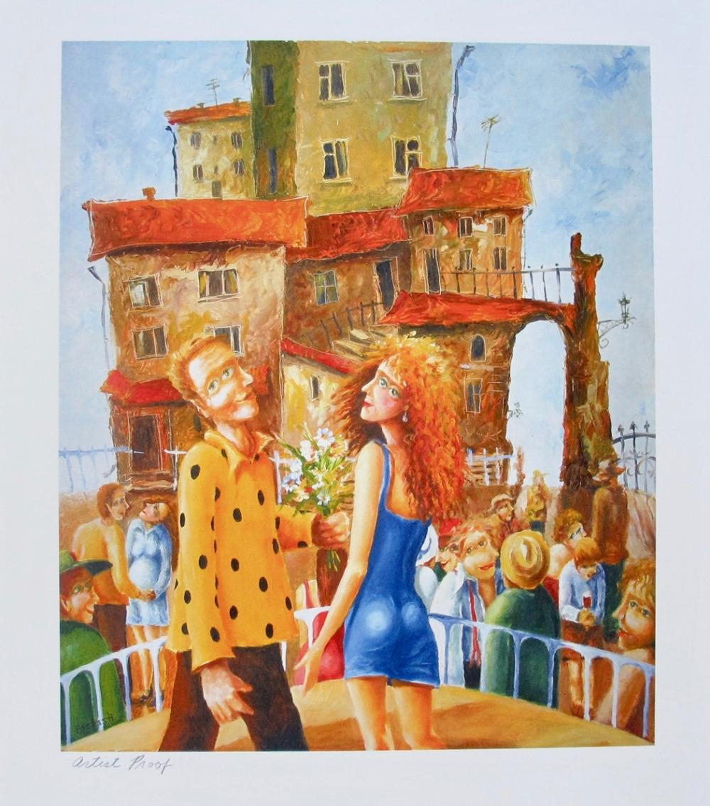 Igor Postash FIRST DATE Hand Signed Limited Edition