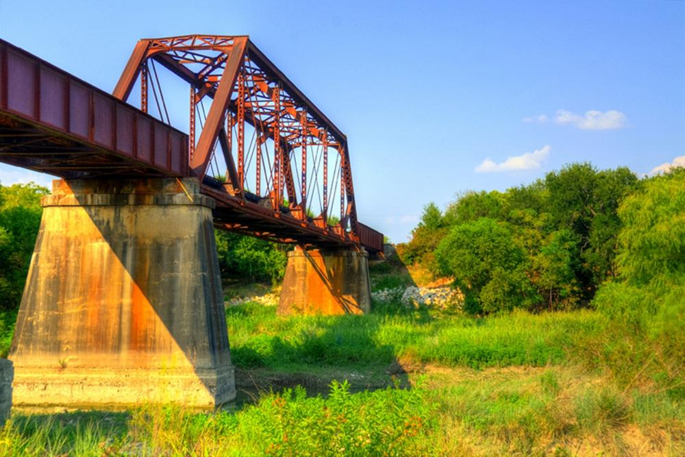Kelly Wade - Texas Railroad Bridge