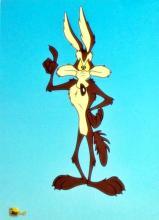 Warner Bros Wile E Coyote Sericel
