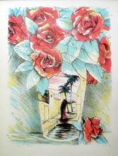 Susan Hall  Desert Roses