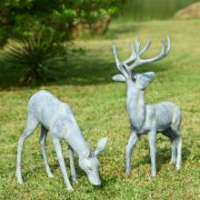 Art Garden Deer Pair
