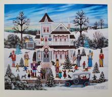 Jane Wooster Scott Nutcracker Fantasy Hand Signed Limited Edition Art Lithograph