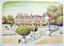 Rolf Rafflewski  Paris Le Pont Alexandre